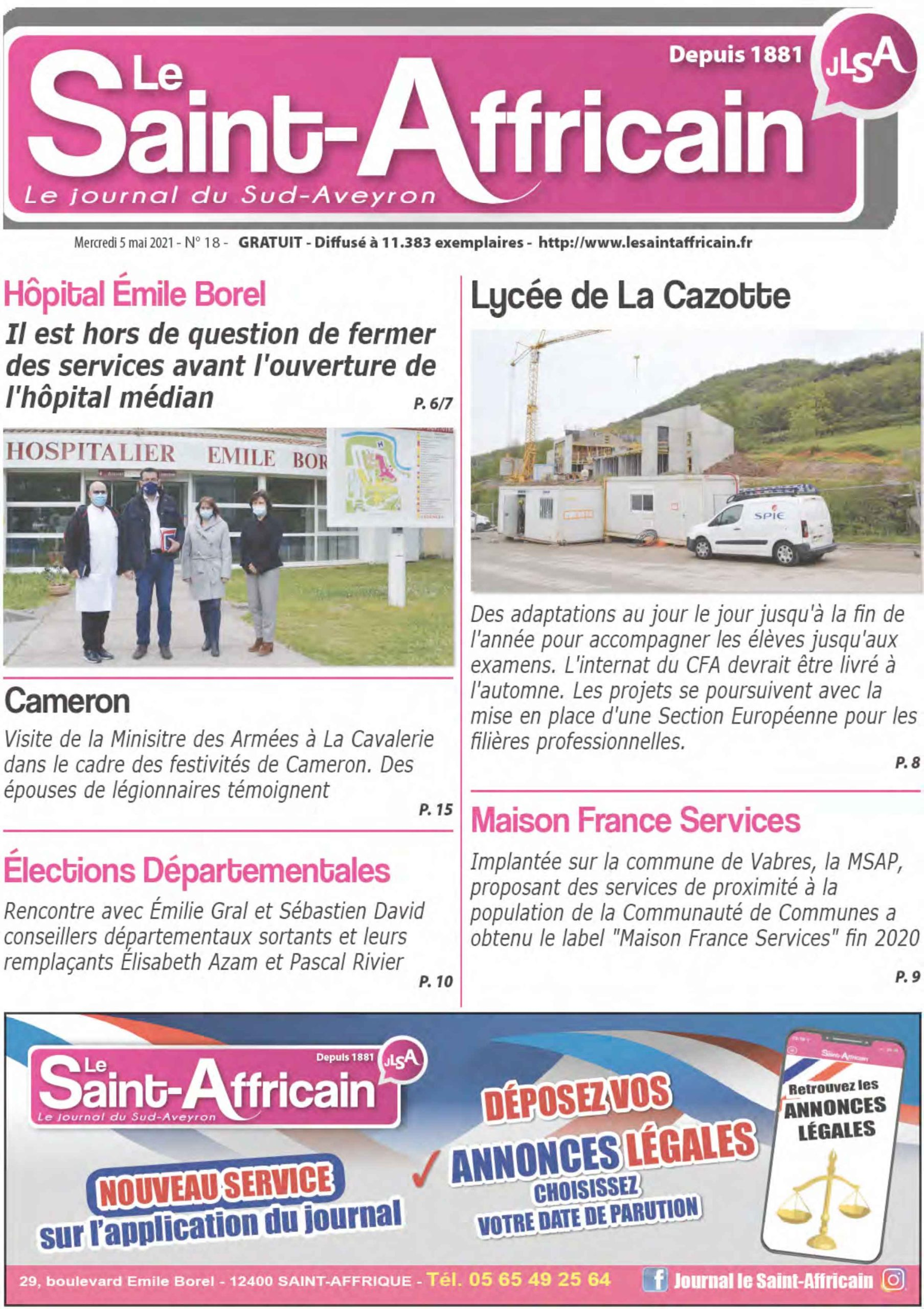 Journal du 14 avril 2021